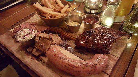 Libertyville, Илинойс: Smoked Meat Platter