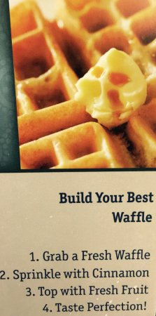 Best Western Plus University Park Inn & Suites: Waffle Maker