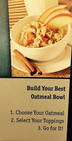 Best Western Plus University Park Inn & Suites: Oatmeal Bar