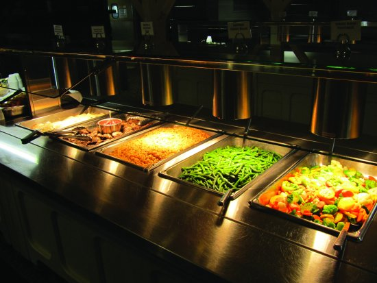 Sandy Cove Ministries: Meals are served buffet style