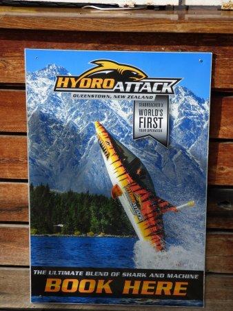Queenstown, Neuseeland: Hydro Attack poster
