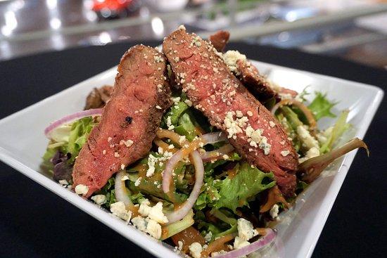 Tacoma, WA: Steak Salad at Classics Cafe inside LeMay - America's Car Museum