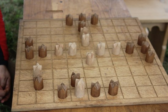 Provinciedomein Raversyde : A kind of chess