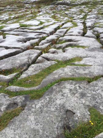County Clare, Irland: Whoa--watch your step! Especially in the rain!