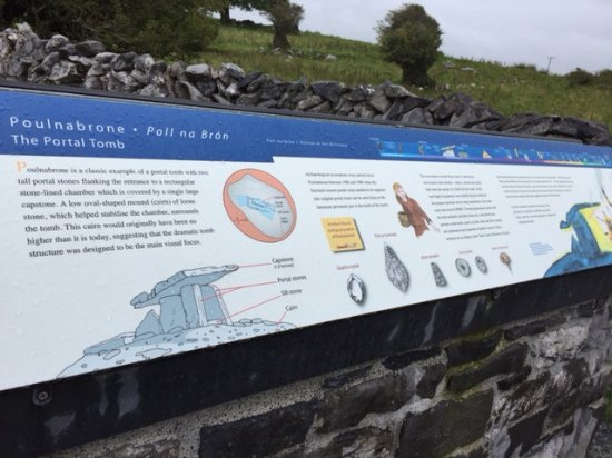 County Clare, Irland: Very informative.