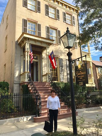 The Gastonian - A Boutique Inn: Outside The Gastonian in historic Savannah