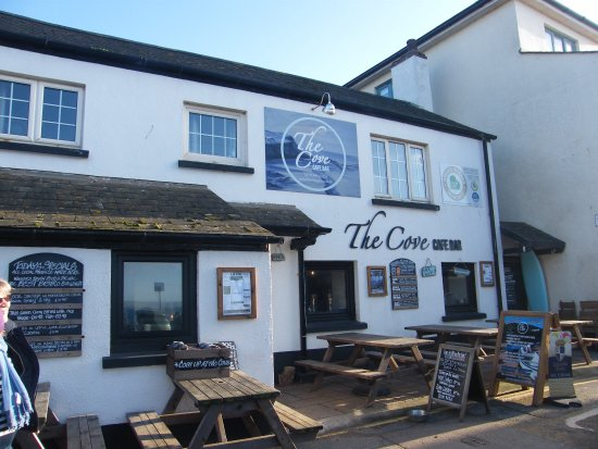 Hope Cove, UK: The Cove is a superb venue for food, beer, wine and cider plus a great place to chat and enjoy t