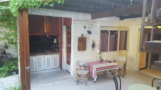 Livian Guesthouse: Barbecue