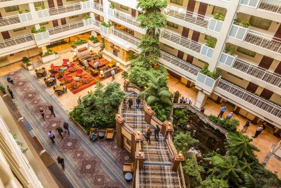 Lake Tahoe Resort Hotel Atrium