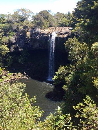 Керикери, Новая Зеландия: Jetzt ist Trockenzeit, fast kein Wasser aber man kann hier auch Baden