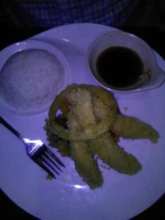 Brooksville, FL: tempura chicken