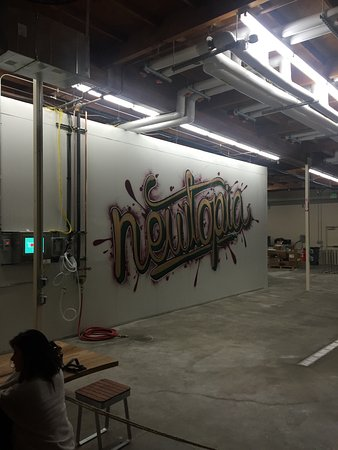 Newtopia graffiti artwork - Picture of Newtopia, San Diego