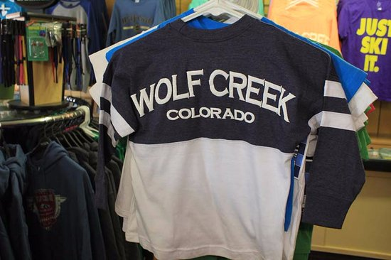 South Fork, CO: Wolf Creek Tee Shirts