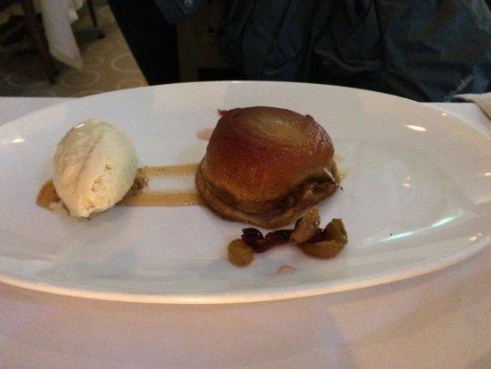 The Sea Grill: apple tart
