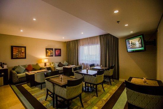 Hotel Lucerna Hermosillo: Lounge para uso exclusivo de clientes Lucerna Select