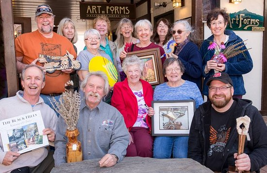 Hill City, SD: Art Forms artists