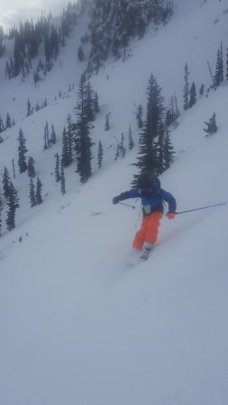 Bridger Bowl: Shredding munchkin.