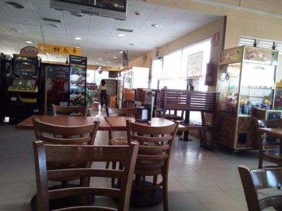 La Muela, Spain: Interior restaurante