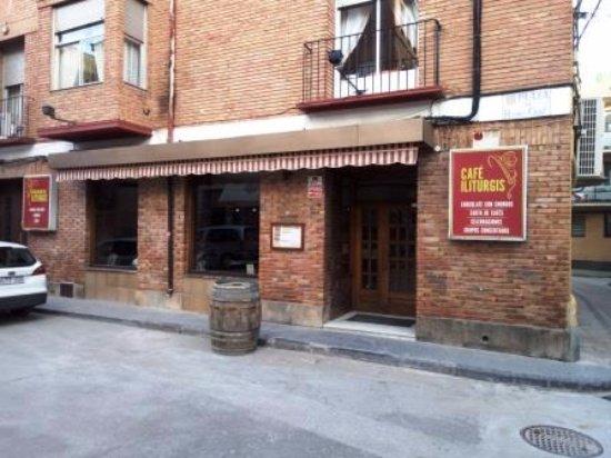 Carinena, สเปน: Entrada restaurante