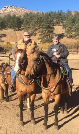 Sedalia, CO: Best horseback trip ever! Thanks to Rosey and Spanky.