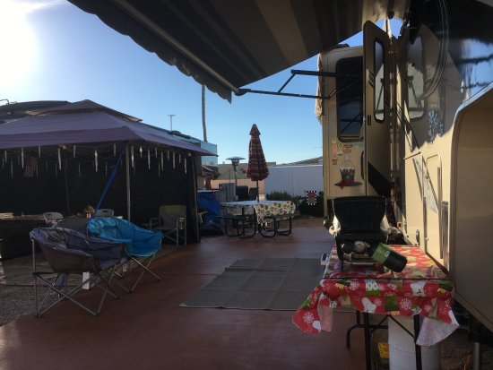 "Mesa Spirit RV Resort: our double wide ""ranchita"" site"