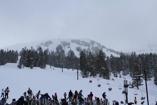 Kirkwood, CA: View from our 2nd floor deck