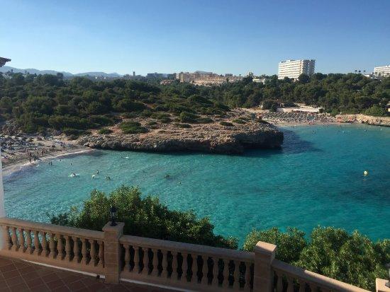 Cala Murada, İspanya: Blick vom Balkon