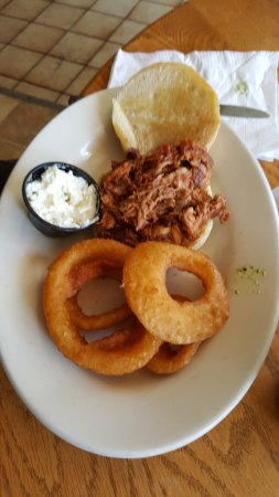 Oak Hill, Virginia Occidental: Pulled Pork
