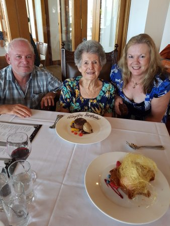 Mount Cotton, Australia: Birthday celebration - dessert was out of this world!!