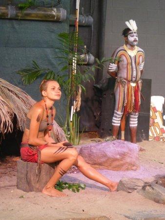 Tjapukai Aboriginal Cultural Park: Aborigines