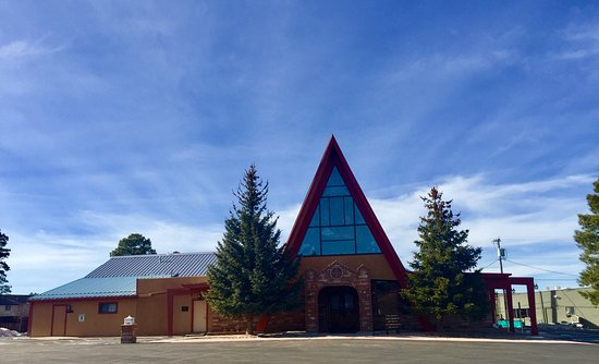 Williams, AZ: Beautiful Catholic Church.