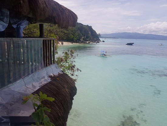 Spider House Resort: View from Bamboo Suite #1