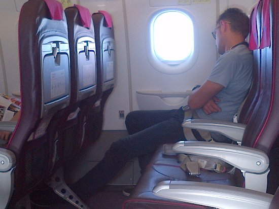 Extra Legroom Seat Enough Space For Any Traveler Picture Of Wizz Air Tripadvisor