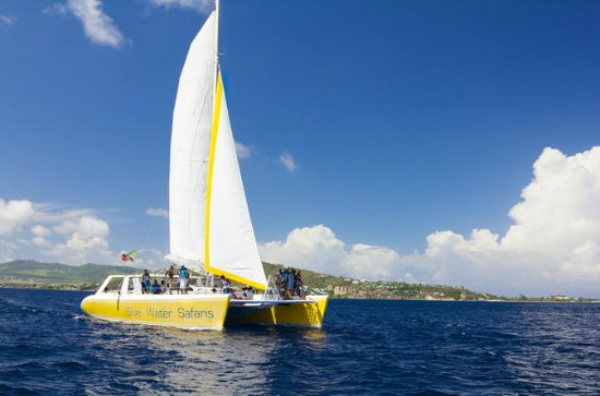 St Kitts Full Day Catamaran til Nevis