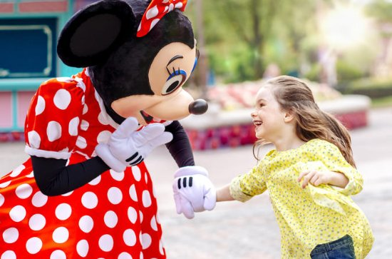Disneyland Paris Entrance Ticket