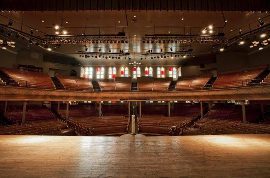Ryman Auditorium Self-Guided...