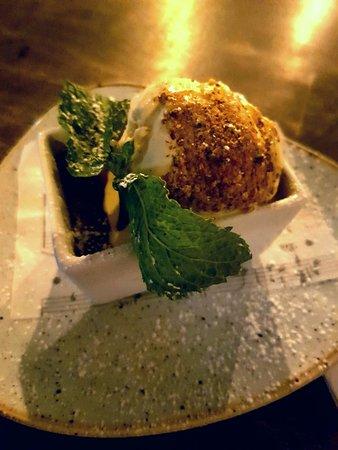 Rocksalt Bar & Restaurant: Creme brulee