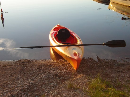 Ely, MN: Complimentary Kayaks