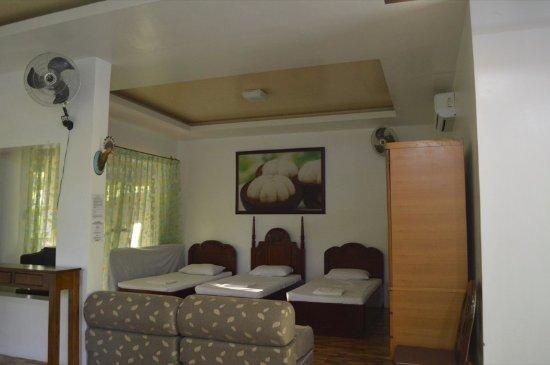 Precious Garden Samal: Family Room - good for 10 pax with breakfast @ 7,500.00/night