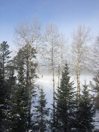 Ely, MN: Winter Lake Fog