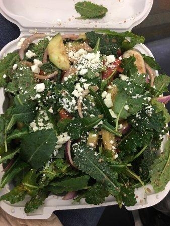 Jack's Urban Eats: Quinoa Kale salad $11+ totally not worth it