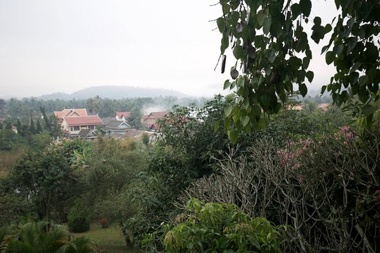 Belmond La Residence Phou Vao: View from our Mountain view suite