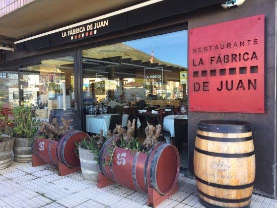 imagen Restaurante La Fabrica de Juan en Zierbena