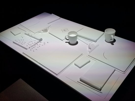 Queensland Museum South Bank: Virtual table