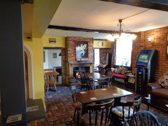 Saxmundham, UK: Lounge area