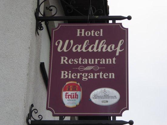 Bornheim, Γερμανία: Anschrit vom Hotel