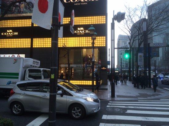 Namiki-dori: The Coach Store At The Entrance To Namiki Street