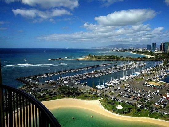 Hilton Hawaiian Village Waikiki Beach Resort Rainbow Tower Harbor Ocean View Room