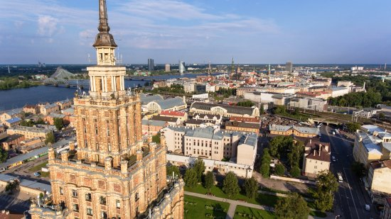 ‪Panorama Riga Observation Deck‬