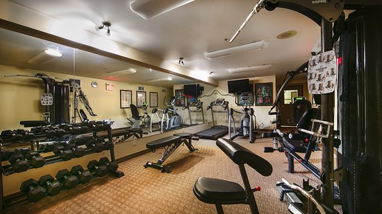 Best Western Plus Baker Street Inn & Convention Centre: Fitness Room